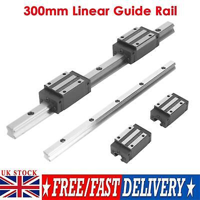 300mm HGR20-300mm Linear Rail Guide Rail + 2pcs Carriages Bearing Block Slider