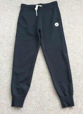 Converse Men's Jogging Bottoms, Black, Size Small