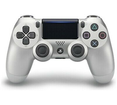 New Genuine Official Sony DualShock 4 V2 Playstation 4 PS4 Controller Silver