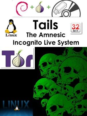 Tails Os - Online Anonymity...be A Ghost...privacy For Everyone  (Xp-7-8-10)