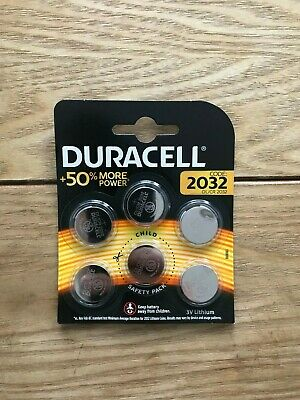 Duracell Dl/Cr 2032 3V Lithium Coin/Cell Battery *Key Fob* Exp 2029!