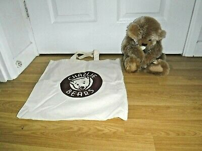 Charlie Bears ~ Heather ~ Complete With Tags & Canvas Bag ~ Excellent Condition