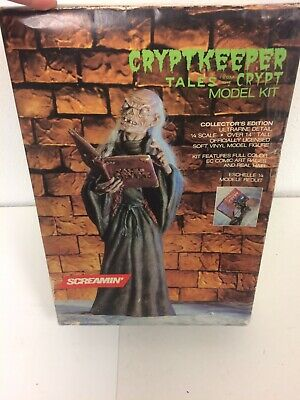 Rare Tales From The Crypt Cryptkeeper Screamin' 1/4 Scale Model Kit