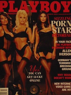 Playboy March 2002 | Porn Star Picturial | Centerfold Tina Marie Jordan #310