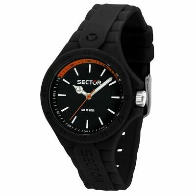 OROLOGIO UNISEX SECTOR NO LIMITS,STEELTOUCH,CASSA SMALL 34mm,NERO,GOMMA SILICONE
