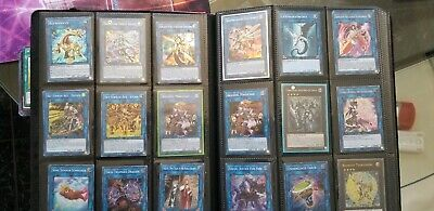 Yugioh Binder Collection see in description for details for cards included