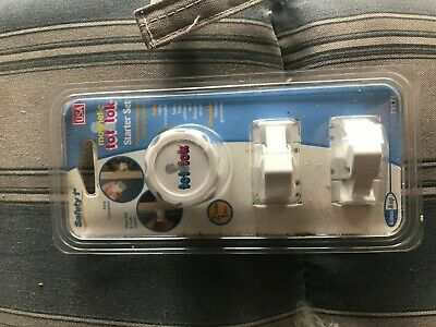 Safety 1st Magnetic Tot Lok Four Lock Set 2