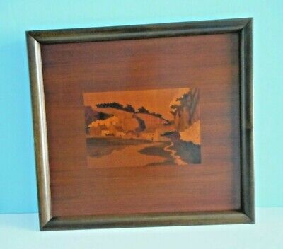 Beautiful A.H. McIntosh & Co. Marquetry Tray. Kirkcaldy