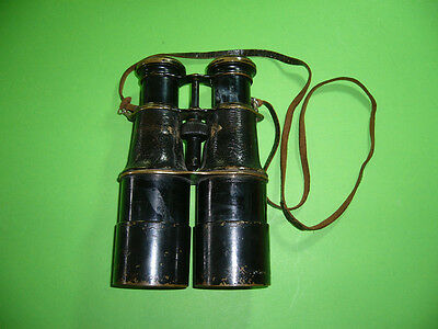306KB1 Altes Messing Fernglas, Feldstecher, um 1900. Vintage brass Binoculars