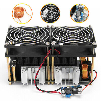 1800W ZVS Dual Fans Module Plate Low Voltage Coil Induction PCB Heating Board