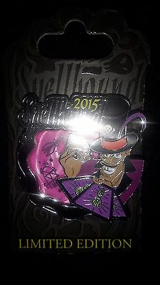 Disney Parks 2015 Halloween Spellbound Villains Dr. Facilier Trading Pin LE 3000