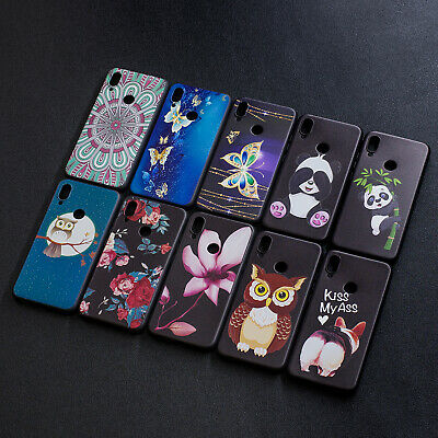 For Xiaomi Redmi 7 Note 7 6 Shockproof Slim Soft Silicone TPU Painted Case Cover