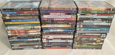 Lot of DVDs...You Pick/Choose the title(s) you want...35+ selections, All Genres