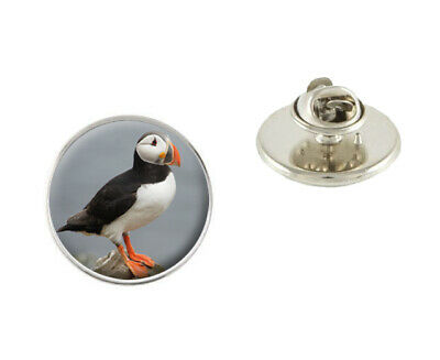 Puffin Bird 25mm Metal Pin Badge Tie Pin Brooch Ideal Birthday Gift N581