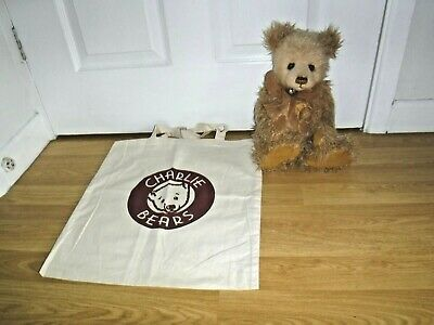 Charlie Bears ~ Louise ~ Complete With Tags & Canvas Bag ~ Excellent
