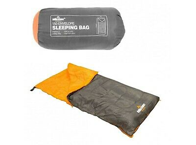 Milestone Double 4 Season Sleeping Bag Waterproof Camping Hiking Envelope Insula