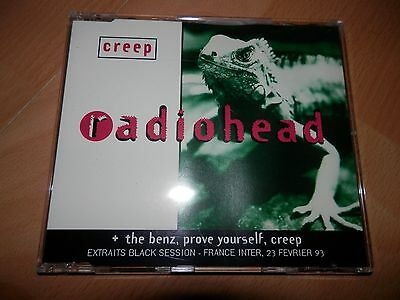 CD RADIOHEAD Creep Black Session FRANCE ONLY 4 tracks RARE