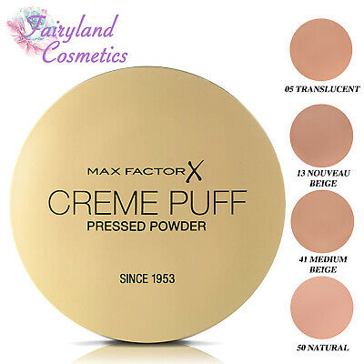 MAX FACTOR CREME PUFF COMPACT PRESSED POWDER 21g ***CHOOSE YOUR SHADE***