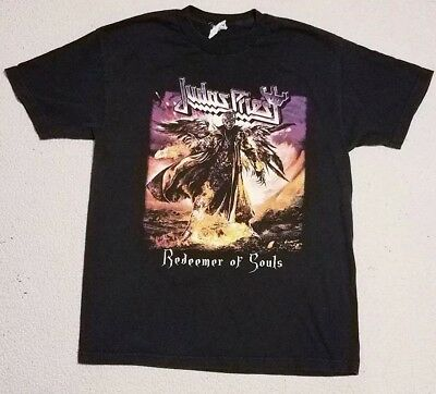 Judas Priest Redeemer Of Souls Full Color N.A Tour NY-WA T Shirt New Official