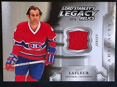 2018-19 UD Artifacts LORD STANLEY'S LEGACY Relics Jersey Cards, U-Pick from List