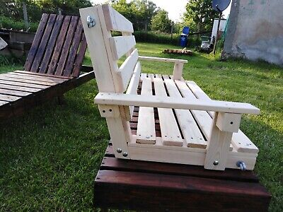 2 Seater Wooden Swing Seat 4FT, 4 FEET ,TOP QUALITY BEST PRICE ON EBAY UK SELLER