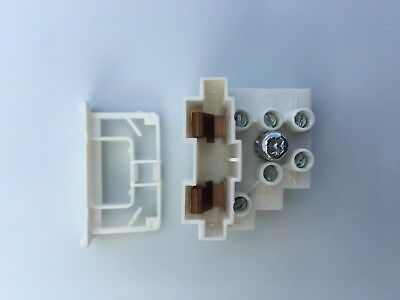 18 x FUSED TERMINAL BLOCK 13 AMP 3 POLE CONNECTOR