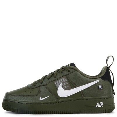 NIKE AIR FORCE Utility Pack Olive Green Size UK 8.5 £80.00