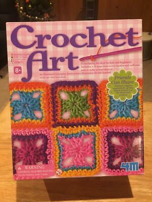 CROCHET ART KIT by 4M (Opened , but never used)