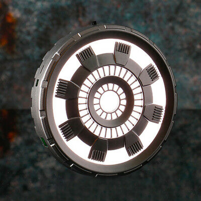 Iron Man Cosplay Props Chest Lamp With Remote Control LED Light Arc Reactor Gift