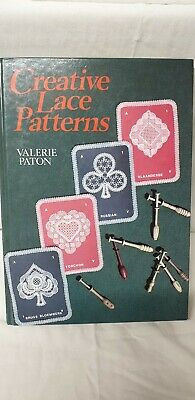 Creative Lace Patterns For Bobbin Lace By Valerie Paton