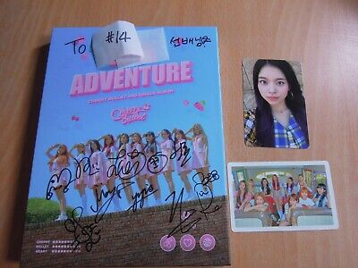 CHERRY BULLET - Love Adventure (2nd Single Promo) with Autographed (Signed)