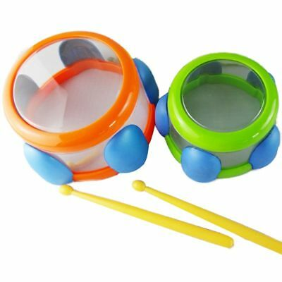 Mini Baby Drum Bath Percussion Musical Toys Set Kids Grasping  Educational Toys