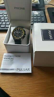 Pulsar Chronograph Wrist Watch