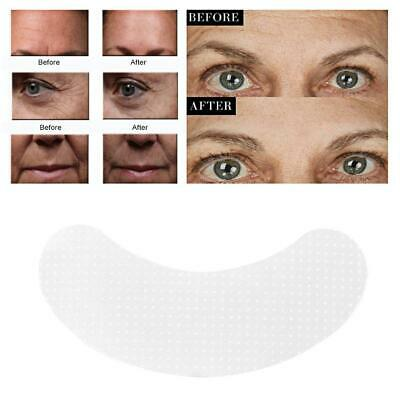 2 Types Anti Wrinkle Face Eye Forehead Pad Patch Lifting Silicone Invisible Tape