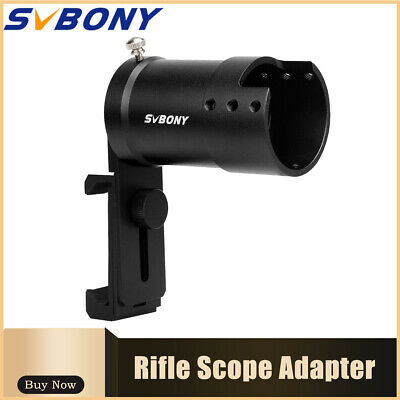 SVBONY Rifle Scope Smartphone Mounting Adapter for Shooters Record Cell Phone