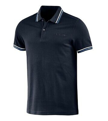 Polo Uomo Colletto Maniche Corte Blu Logo LOTTO Sport L73 Piquet GIOSAL