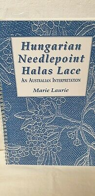Hungarian Needlepoint Halas Lace By Marie Laurie
