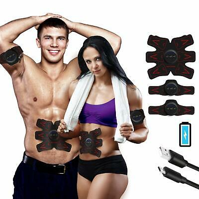Ultimate EMS AB&Arms Muscle Simulator ABS Training Home Abdominal Trainer Set