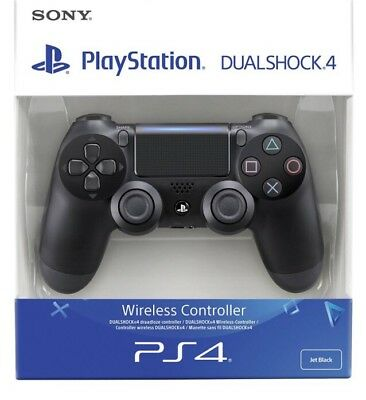 SONY PS4 - Controller Dualshock 4 V2 playstation 4 Jet Black, Wireless joystick