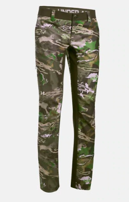fca1fdb4786ba NEW UNDER ARMOUR Stealth Hunting Forest Camo Storm Field Pants Heat ...