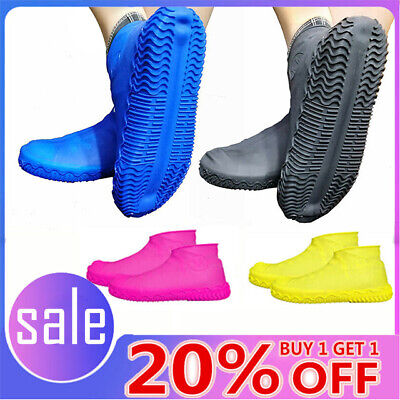 Silicone Overshoes Rain Waterproof Shoe Covers Boot Cover Protector Recyclable Z