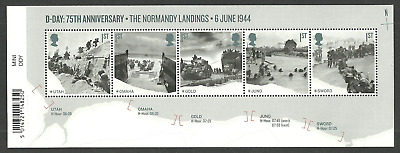 Gb 2019 D-Day Normandy Landings Military Ships Tanks M/Sheet Mnh