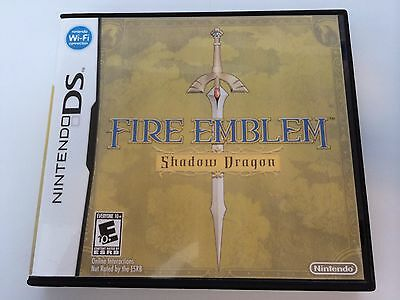 Fire Emblem Shadow Dragon - Nintendo DS - Replacement Case - No Game