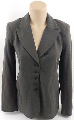 Motherhood Maternity Jacket Womens Small Gray Blazer Career Office Business New