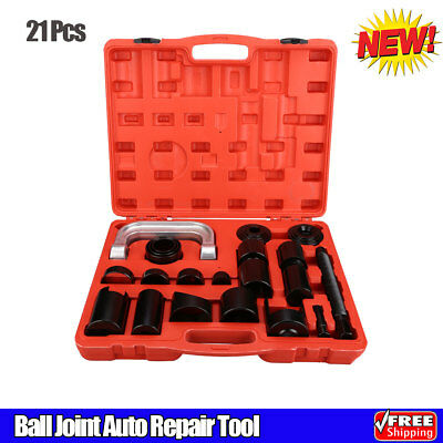 21Pcs Ball Joint Auto Repair Tool Kit Service Remover Installer Master Adapter