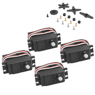4x High Torque S3003 Servo Standard for RC Toy Car Truck Helicopter Boat RC789