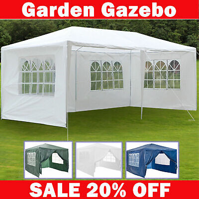 3Mx3M Party Tent Outdoor PE Garden Gazebo Marquee Canopy Awning Shade 3x6m 3x4m