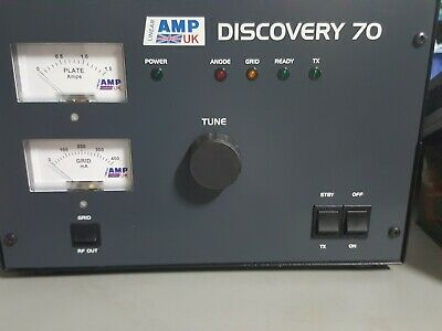 LINEAR AMP UK DISCOVERY 70cm with GS-31 TRIOD 430mhz to 440mhz,