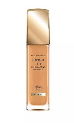 MAX FACTOR RADIANT LIFT LONG LASTING FOUNDATION 95 TAWNY BRAND NEW sealed SALE