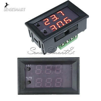 DC12V Digital Dual Red+Red LED W1209WK Thermostat Temperature Controller Sensor